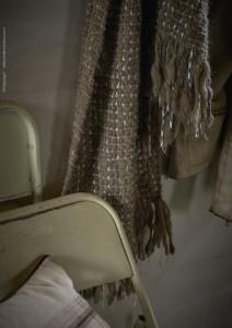 Nieve y luna cushions, Pashmina Guarmi grey with silk