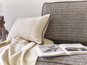 Barracán and picote bespoke cushions